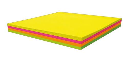 Bloco Adesivo Tili Notes 76x76mm 100 folhas 4 Cores Neon - Tilibra