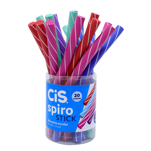 Borracha Cis Spiro Stick - unidade
