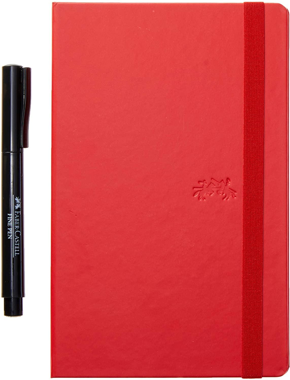 Caderneta VERM Creative Journal Pautado 84 fls - Faber Castell