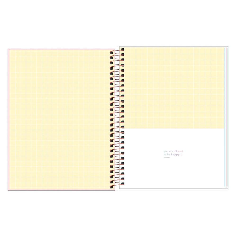 Caderno Colegial TILIBRA Happy Color - 1 Matéria c/ 80 Folhas