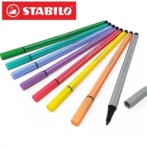 Caneta STABILO Pen 68 Estojo Com 15 Cores