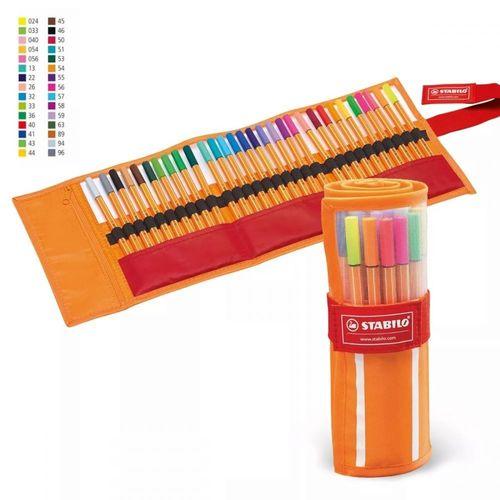 Caneta Stabilo Point 88 estojo com 30 cores