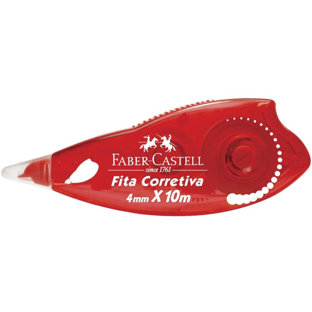 Corretivo em fita 4mmx10m SM/7072 Faber Castell CA 1 UN