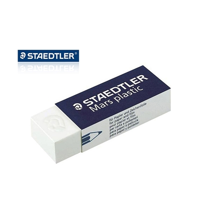 Kit Escolar Staedtler Lápis Preto + Apontador + Borracha