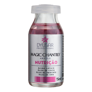 Ampola de Nutrição Magic Chantilly Dyusar 15ml