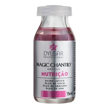 Ampola de Nutrição Magic Chantilly Dyusar 15ml