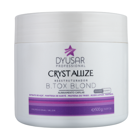 B.tox Crystallize Reestruturador  Blond 500 g DYUSAR