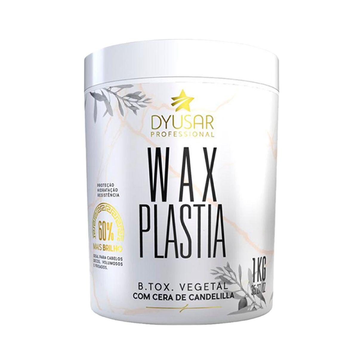 B.tox Vegetal Wax Plastia DYUSAR COSMÉTICOS PROFISSIONAL 1KG