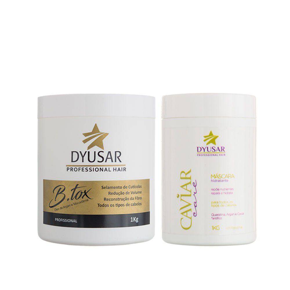 Kit B.tox + Máscara Caviar 1 kg DYUSAR