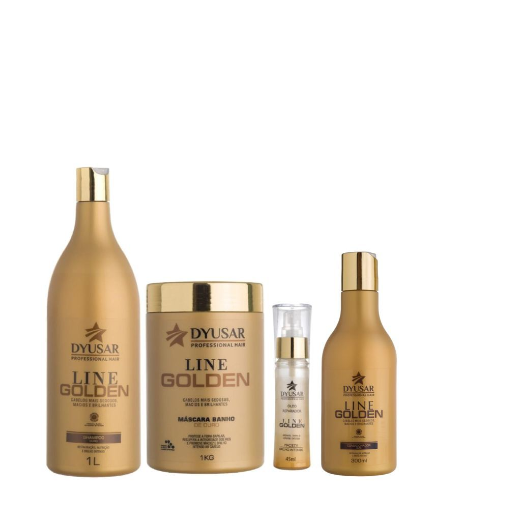 Kit Line Golden SH+ MAS+COND+OLÉO 1KG DYUSAR