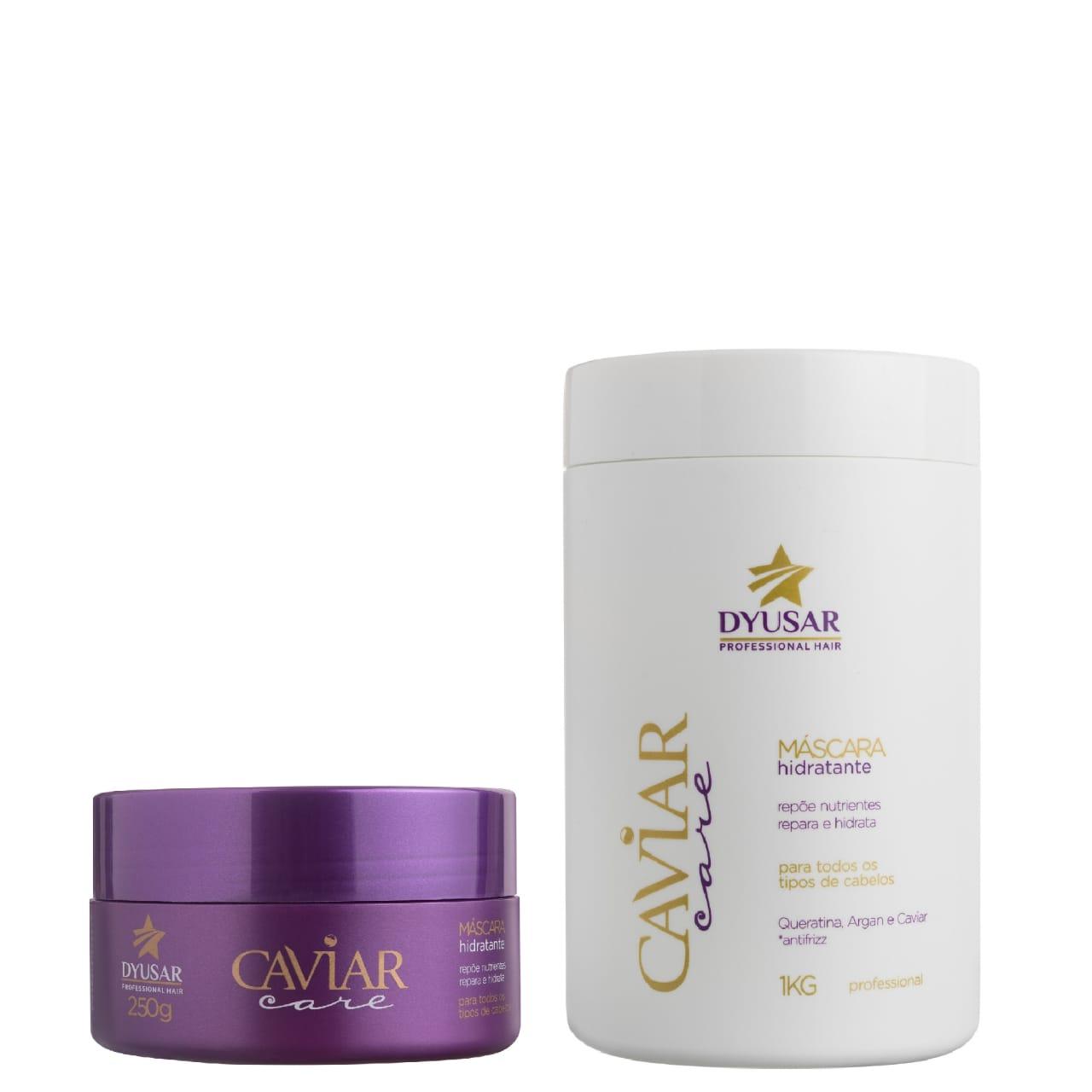 Kit Máscaras de Caviar DYUSAR