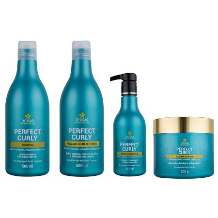 Kit Nutritivo Perfect Curly para Cachos Completo DYUSAR