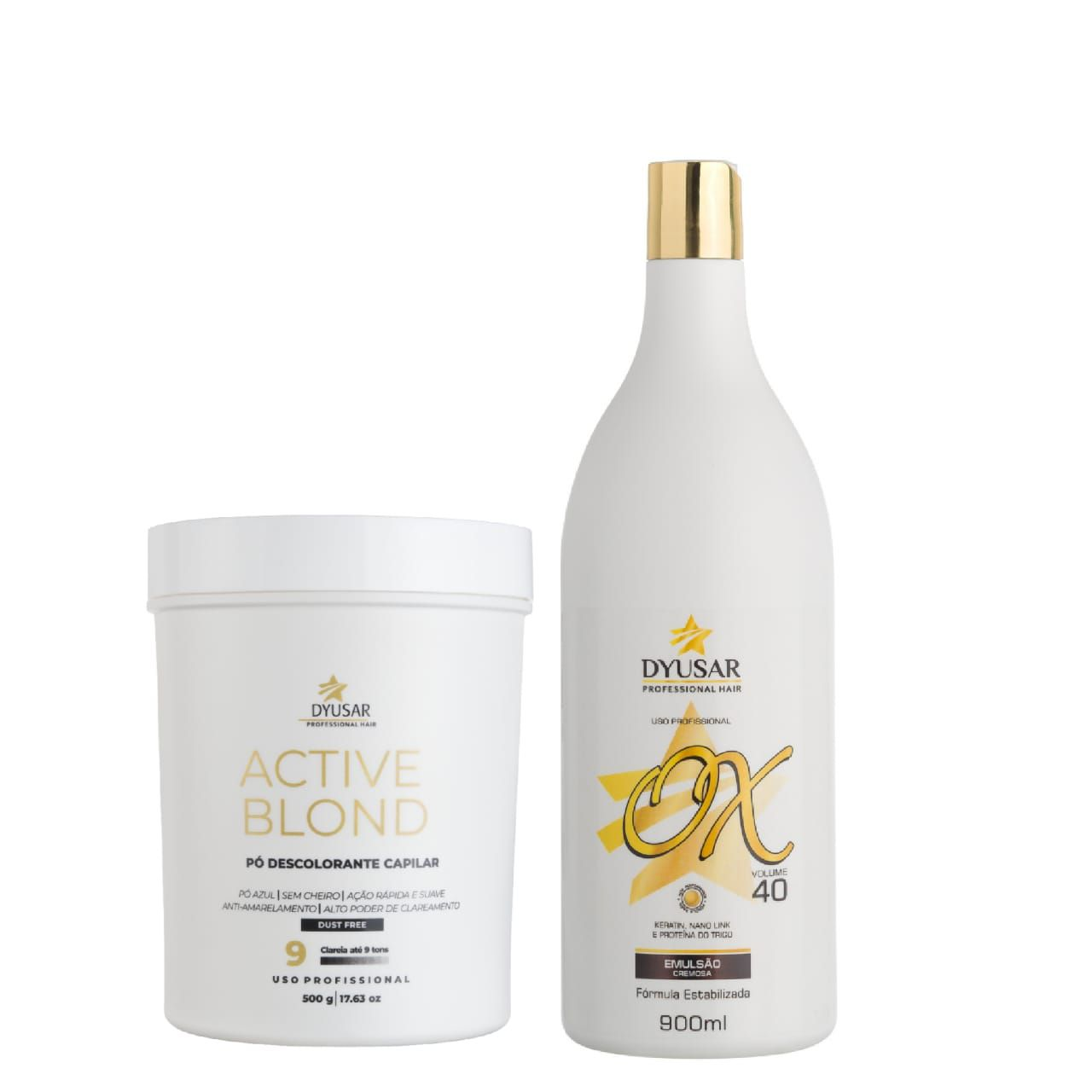 Kit Pó Active Blond  + OX 40 Volumes DYUSAR