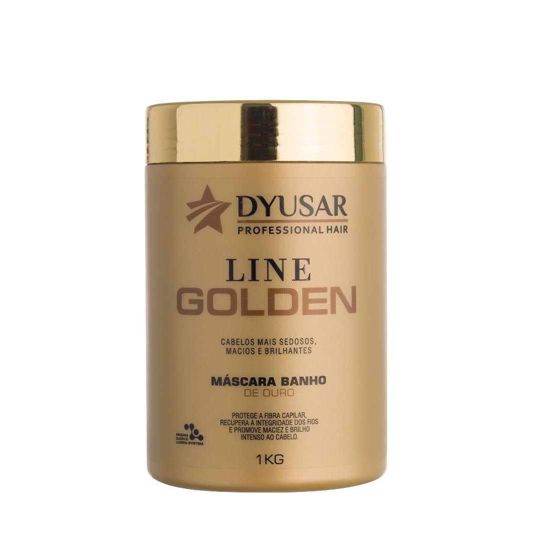 Máscara Line Golden Professional Hair DYUSAR 1 kg