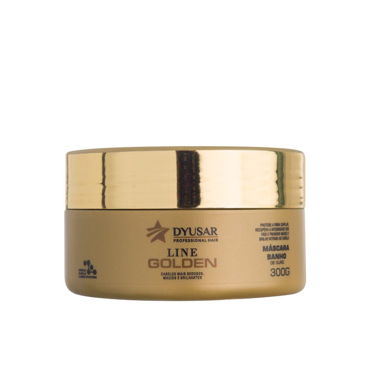 Máscara Line Golden Professional Hair DYUSAR 300g