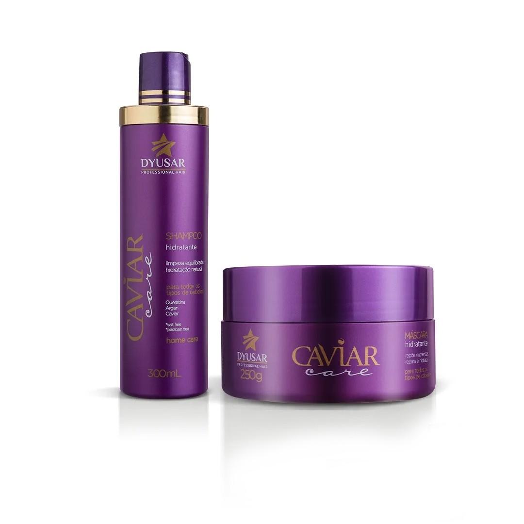 Shampoo e Máscara  de Caviar DYUSAR  300 g
