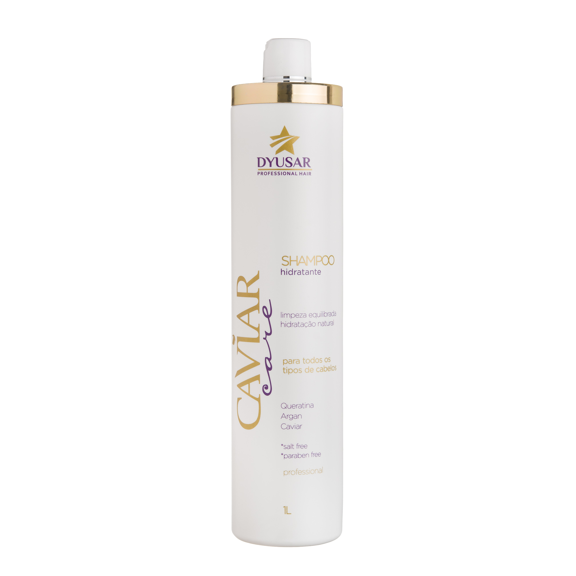Shampoo Hidratante Caviar 1 L DYUSAR