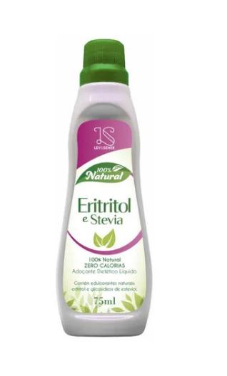 Adoçante Natural  Eritritol/Stevia 75ml Lev