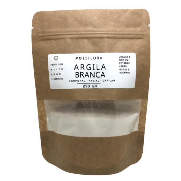 Argila Branca 250g Poliflora