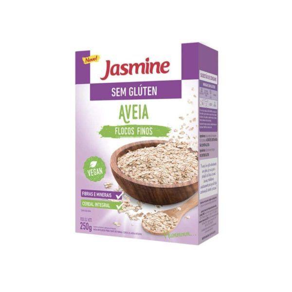 Aveia em flocos s/glúten 250g Jasmine