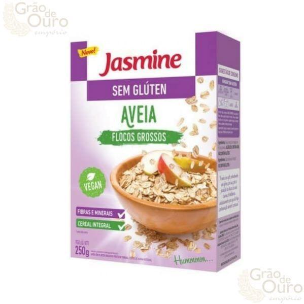 Aveia Laminada s/glúten 250g Jasmine