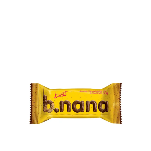 B.NANA AMENDOIM C/CHOCOLATE 35G B.EAT