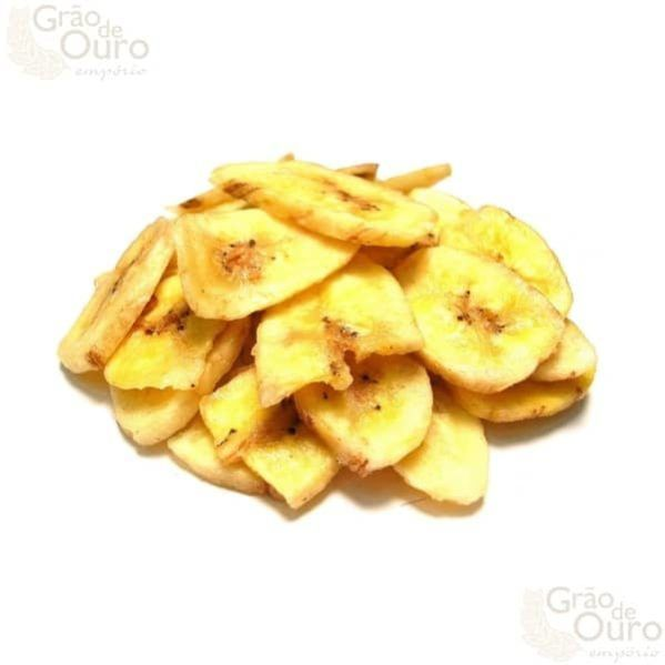 Banana Chips Salgada 200g