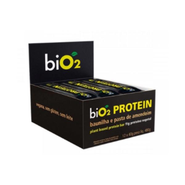 Barra Proteina bio2 Alfarroba Cx 12un