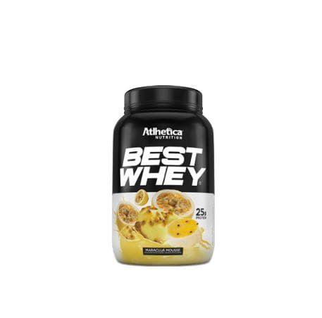 Best Whey 900g Maracujá Mousse - Atlhetica Nutrition