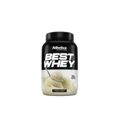 Best Whey 900g Vanilla Cream - Atlhetica Nutrition