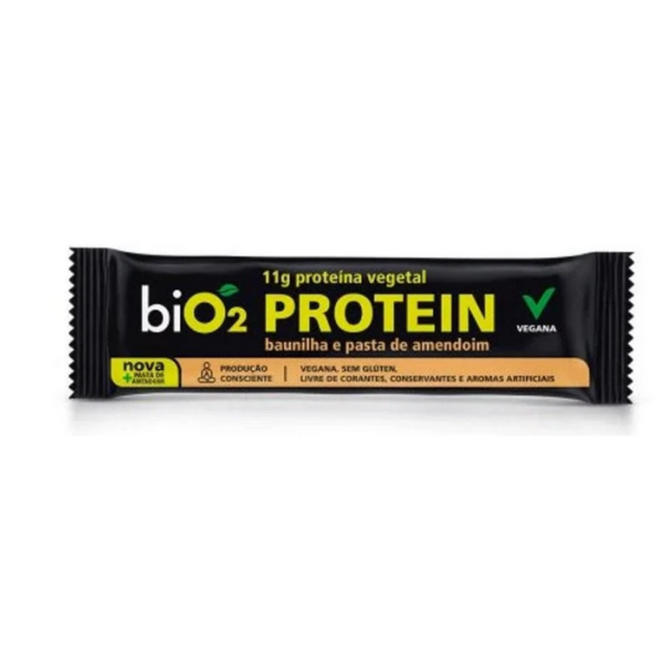 Bio2 protein 40g baunilha e amendoim