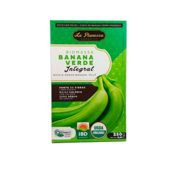 Biomassa de Banana Verde 250g (integral)