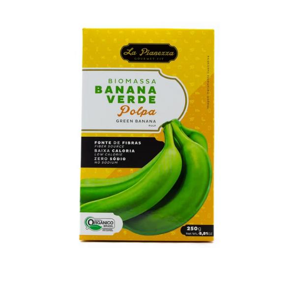 Biomassa de Banana Verde 250g (Polpa)