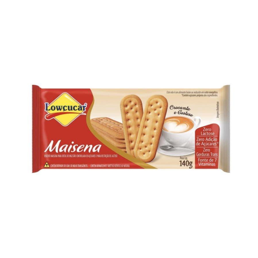 Biscoito de Maizena Zero 140g Lowcucar