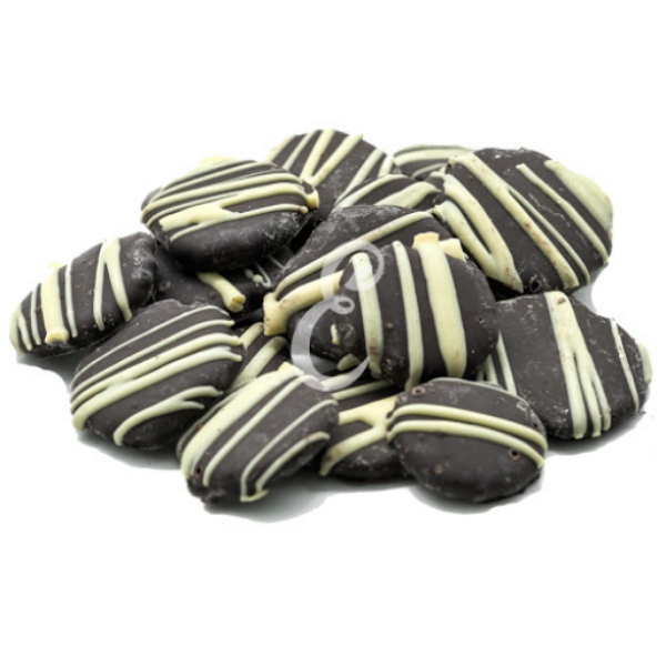 Biscoito Sembei com chocolate 70% À Granel