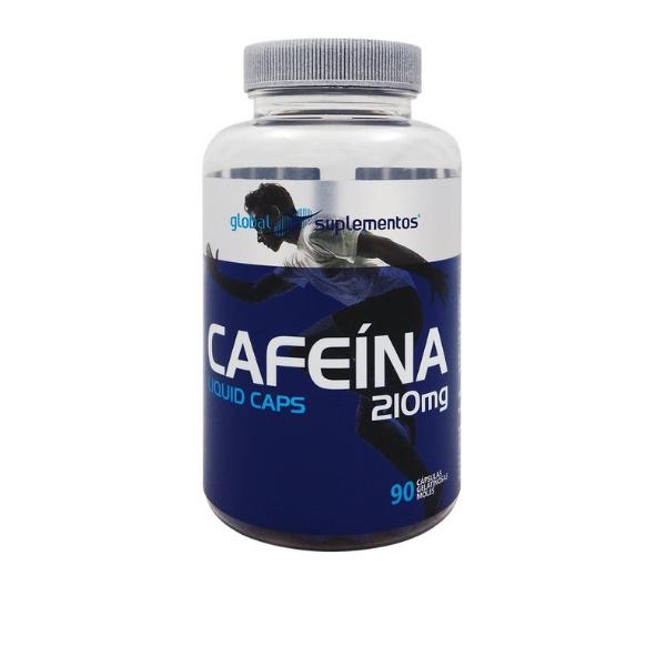 Cafeína 420mg - 90 caps Global Nutrition
