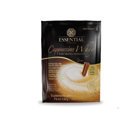 Cappucino Whey sachê 32g - Essencial