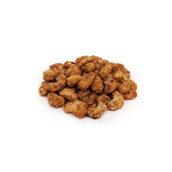 Castanha de Caju Caramelizada c/Gergelim 100g