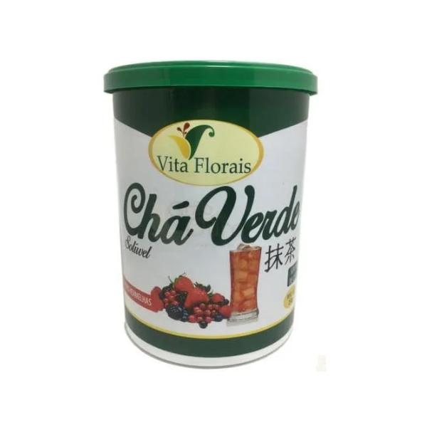 Chá Verde Solúvel F. Verm 250g Vita Florais