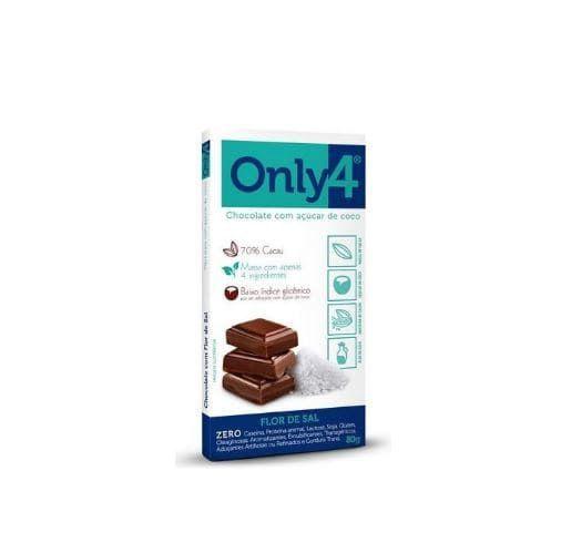 Chocolate Only4 Flor de Sal 80g - Genevy