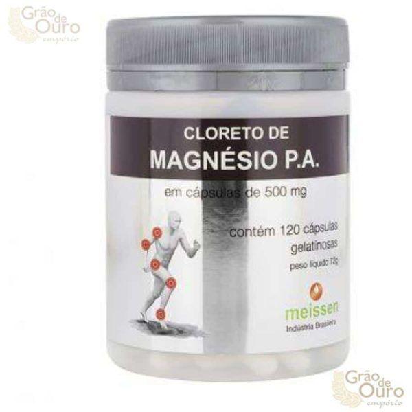 Cloreto de Magnésio 120 caps