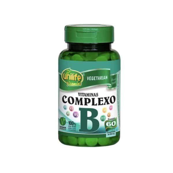 Complexo B 60 cáps. Unilife