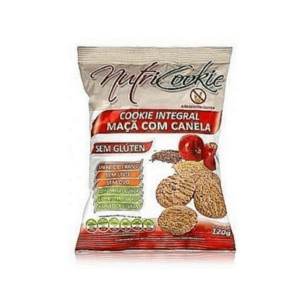 Cookies de maçã/canela s/glúten 120g (integral)