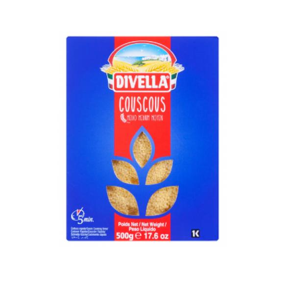 COUSCOUS 500G DIVELLA