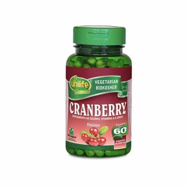 Cranberry 60 cáps. Unilife