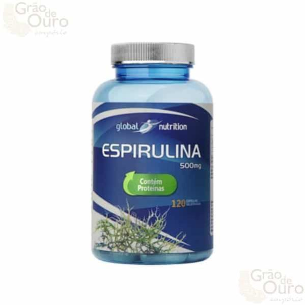 Espirulina 120 caps Global Nutrition