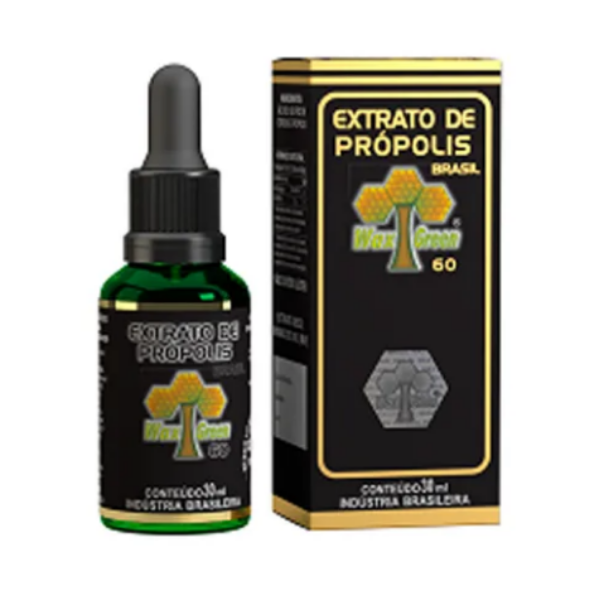 Extrato de Própolis 60 30ml Wax Green