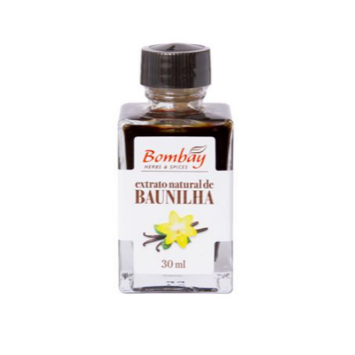 Extrato Natural de Baunilha 30ml - Bombay