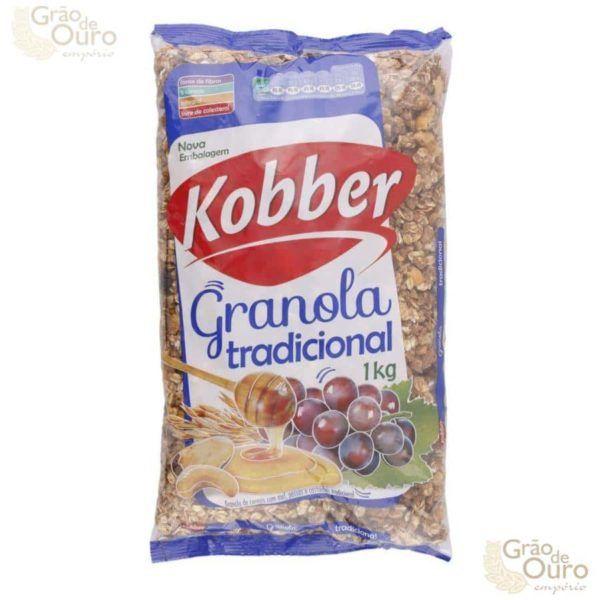 Granola Tradicional 1 kg Kobber