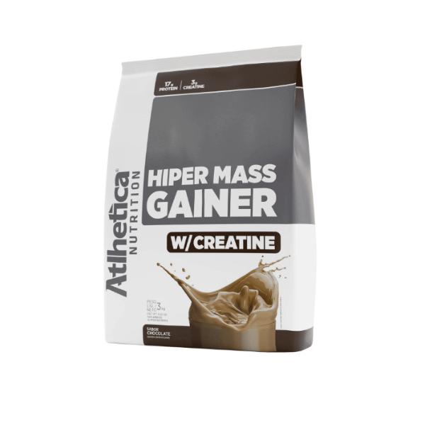 Hiper Mass Gainer Chocolate 3kg - Atlhetica Nutrition